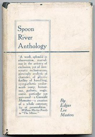 Spoon River Anthology - Macmillan & Co., First edition, frontispiece to Spoon River Anthology.