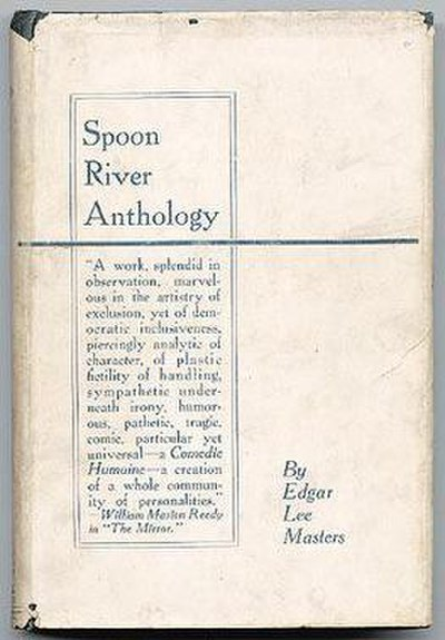 Picture of a book: Spoon River Anthology