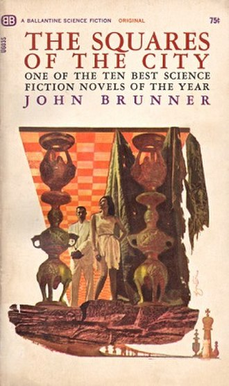 The Squares of the City - Cover art from first edition