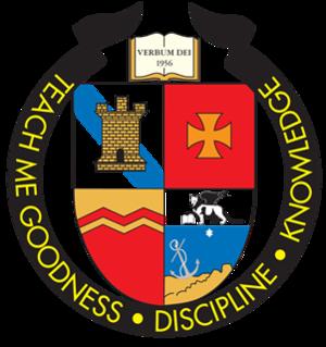 St. Pius X High School (Albuquerque) - Image: St.Pius logo