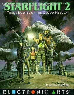<i>Starflight 2: Trade Routes of the Cloud Nebula</i> 1989 video game