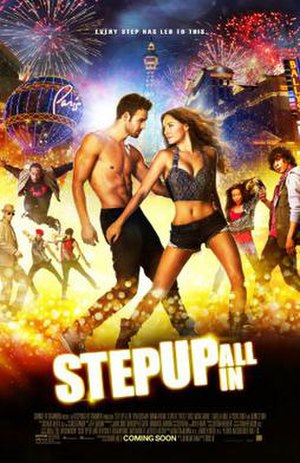 Step Up: All In - Theatrical release poster