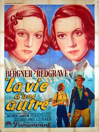 Stolen Life (1939 film) - French release poster