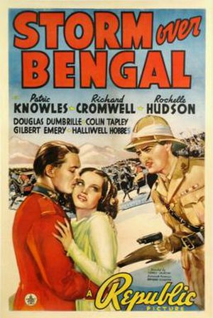 Storm Over Bengal - Film poster