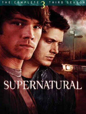 Supernatural (season 3) - DVD cover art