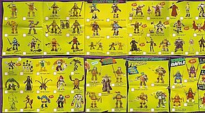 Teenage Mutant Ninja Turtles action figures - 2014 TMNT action figure checklist