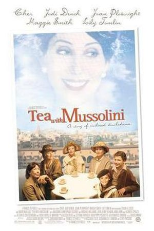 Tea with Mussolini - Theatrical release poster