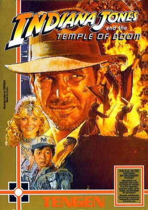 Indiana Jones and the Temple of Doom (1988 video game) - Indiana Jones and the Temple of Doom
