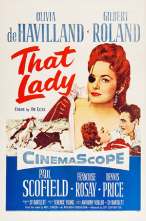 That Lady - 1955 Theatrical poster