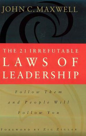 The 21 Irrefutable Laws of Leadership - First edition cover