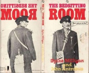 The Bedsitting Room (play) - Cover of Paperback publication of play script