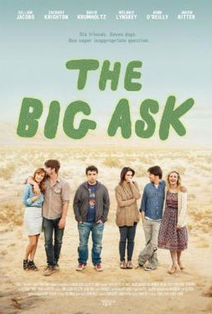 The Big Ask (film) - Theatrical release poster