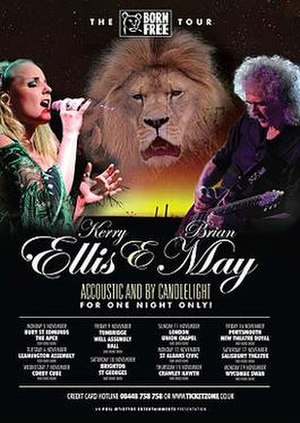 The Born Free Tour - Image: The Born Free Tour Kerry Ellis