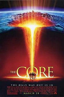 <i>The Core</i> 2003 American science fiction disaster film directed by Jon Amiel