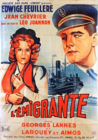 The Emigrant (1940 film) - Film poster