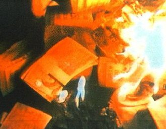 Bill Drummond - Bill Drummond and partner Jimmy Cauty burn a million pounds. From K Foundation Burn a Million Quid.