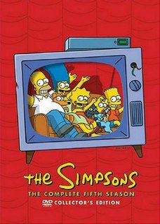 <i>The Simpsons</i> (season 5) Episode list for season of animated series