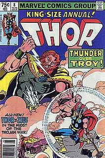 Zeus (Marvel Comics) fictional character in Marvel Comics