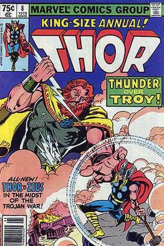 Zeus (Marvel Comics) - Image: Thorann 8
