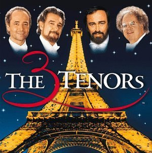 The Three Tenors: Paris 1998 - Image: Three Tenors Paris 1998 album cover