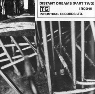 Adrenalin/Distant Dreams (Part Two) - Image: Throbbing Gristle Adrenaline Single Cover Side 2