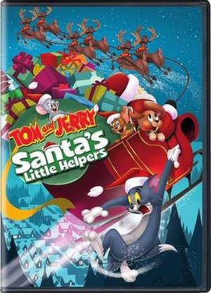 Tom and Jerry: Santa's Little Helpers - Image: Tom And Jerry Santas Little Helpers DVD