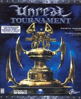 <i>Unreal Tournament</i> 1999 first-person shooter video game