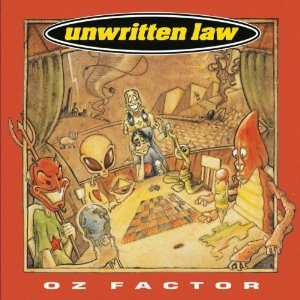 Oz Factor (album) - Image: Unwritten Law Oz Factor cover