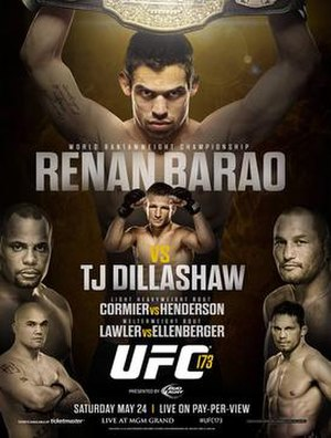 UFC 173 - Image: Updated UFC 173 poster