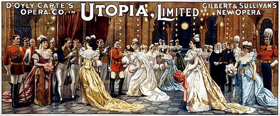Utopia, Limited poster