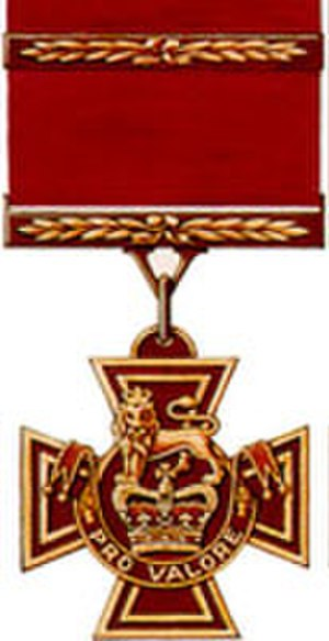 Victoria Cross (Canada) - Image: Victoria Cross of Canada (Second award)