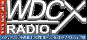 WDCX (AM) - Image: WDCX logo