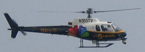 "WMAQ-TV - WMAQ's news helicopter, ""Sky5""."