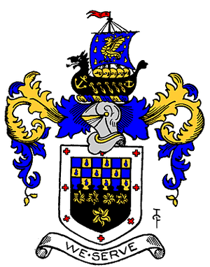Metropolitan Borough of Wandsworth - The Arms of The Metropolitan Borough