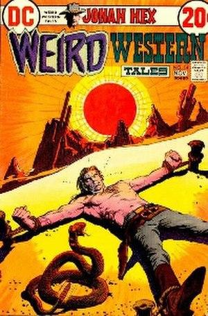 Tony DeZuniga - Image: Weird western tales 14