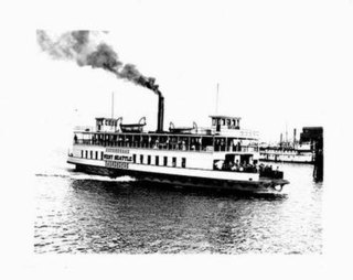 <i>West Seattle</i> (steam ferry) 1907 ship