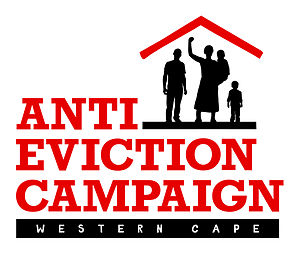 Official Western Cape Anti-Eviction Campaign Logo