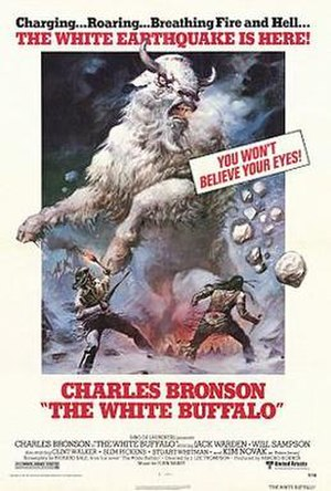 The White Buffalo - White Buffalo theatrical poster.