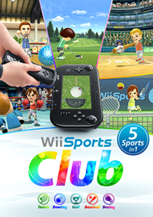 Wii Sports Club - Image: Wii Sports Club boxart