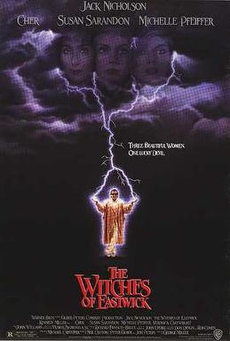 The Witches of Eastwick (film) - Theatrical release poster