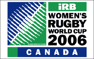 2006 Womens Rugby World Cup 5th Womens Rugby World Cup