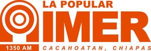 XHCAH-FM - Image: XECAH La Popular 89.1 logo