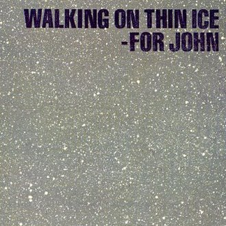 Walking on Thin Ice - Image: Yoko Ono Walking Single 1981