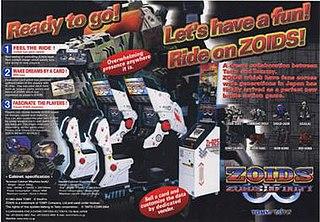 <i>Zoids Infinity</i> 2004 video game
