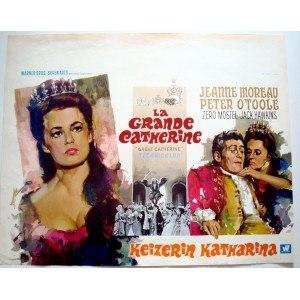 Great Catherine (film) - Belgian theatrical poster