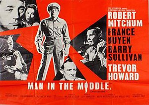 "Man in the Middle (film) - Image: ""Man in the Middle"" (1964)"