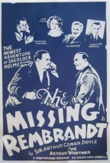 <i>The Missing Rembrandt</i> 1932 film by Leslie S. Hiscott