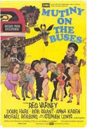 Mutiny on the Buses - UK theatrical poster