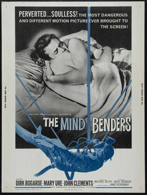 The Mind Benders (1963 film) - U.S. theatrical poster