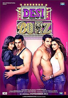 Download Desi Boyz (2011) Hindi Movie 480p | 720p